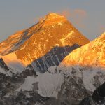 Highest mountain of the world